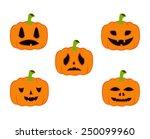 vector file of pumpkins | Shutterstock .eps vector #250099960