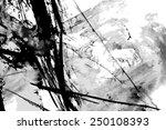 abstract ink paint vector... | Shutterstock .eps vector #250108393