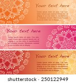 Set Of 3 Colorful Traditional...
