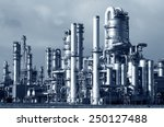 pipelines of a oil and gas... | Shutterstock . vector #250127488