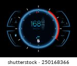 realistic sport car vector... | Shutterstock .eps vector #250168366