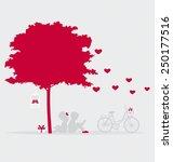 Valentine Background With...
