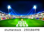illustration of stadium of... | Shutterstock .eps vector #250186498