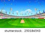 illustration of stadium of... | Shutterstock .eps vector #250186543