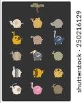 animal | Shutterstock .eps vector #250216129