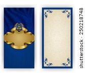 elegant template for luxury...   Shutterstock .eps vector #250218748
