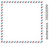 Postal Background. Vector...