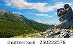 mystical landscape panorama... | Shutterstock . vector #250223578