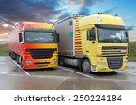 trucks | Shutterstock . vector #250224184