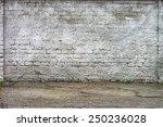 grunge aged texture street... | Shutterstock . vector #250236028