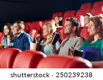 cinema  entertainment and... | Shutterstock . vector #250239238