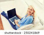 home  technology and internet... | Shutterstock . vector #250241869