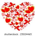 valentines heart symbol...