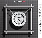 calendar 2015  stylized clock...   Shutterstock .eps vector #250251073