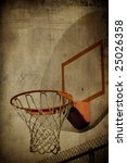 Basketball Basket Grunge