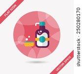 kitchenware dish soap flat icon ... | Shutterstock .eps vector #250280170
