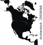 north america | Shutterstock .eps vector #25028368