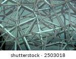 facade of building made of...   Shutterstock . vector #2503018