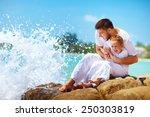 a moment before water splashing ... | Shutterstock . vector #250303819