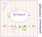 Newborn Birthday Card. Baby ...
