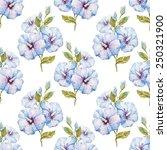 hibiscus  flowers  exotic ... | Shutterstock . vector #250321900