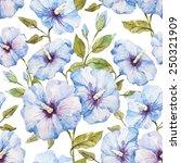 hibiscus  flowers  exotic ... | Shutterstock . vector #250321909