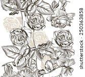 vector seamless pattern for... | Shutterstock .eps vector #250363858