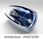jet engine inside. high... | Shutterstock . vector #250371550