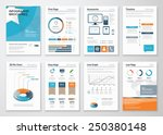 collection infographic elements ... | Shutterstock .eps vector #250380148