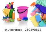 still life of assortment of... | Shutterstock . vector #250390813