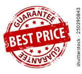 best price guarantee red rubber ... | Shutterstock .eps vector #250390843