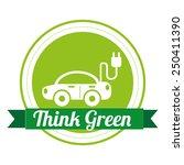 eco friendly  design  vector... | Shutterstock .eps vector #250411390
