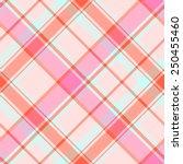 seamless madras plaid pattern   Shutterstock .eps vector #250455460