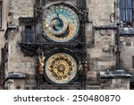 The Astronomical Clock At Old...