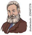alexander graham bell | Shutterstock .eps vector #250487278