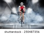 Sport. Cyclist Has A Traning I...