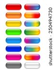 a set of transparent colored... | Shutterstock .eps vector #250494730