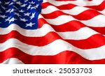 american flag | Shutterstock . vector #25053703
