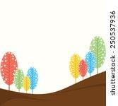 creative natural banner design... | Shutterstock .eps vector #250537936