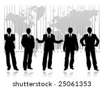 business people | Shutterstock .eps vector #25061353