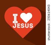 catholic symbol  design  vector ... | Shutterstock .eps vector #250614043