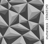 polygonal seamless pattern.... | Shutterstock .eps vector #250635190