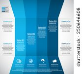 infographic design template ... | Shutterstock .eps vector #250646608