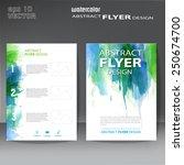 brochure  flyer modern...   Shutterstock .eps vector #250674700
