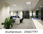 interior of a workplace | Shutterstock . vector #25067797