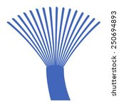 fiber optics communication... | Shutterstock .eps vector #250694893