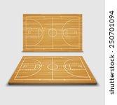 vector basketball field.vector | Shutterstock .eps vector #250701094