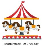 Vintage Merry Go Round Carouse...