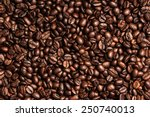 Coffee Beans Background. Close...