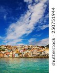 morning view of parga  greece | Shutterstock . vector #250751944